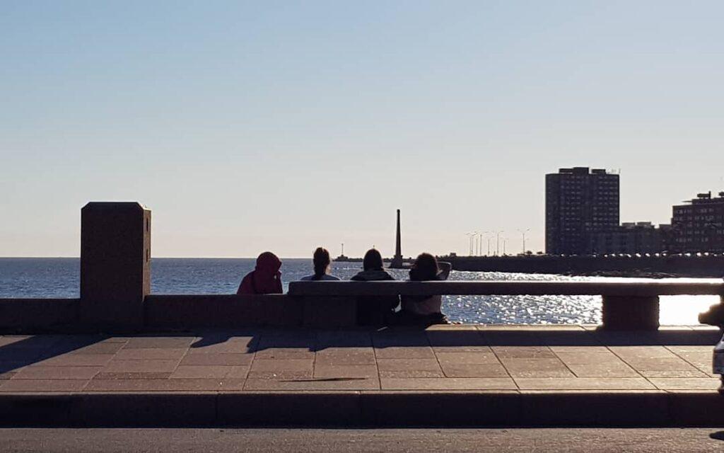 Montevideo bahía sudamericana escondida