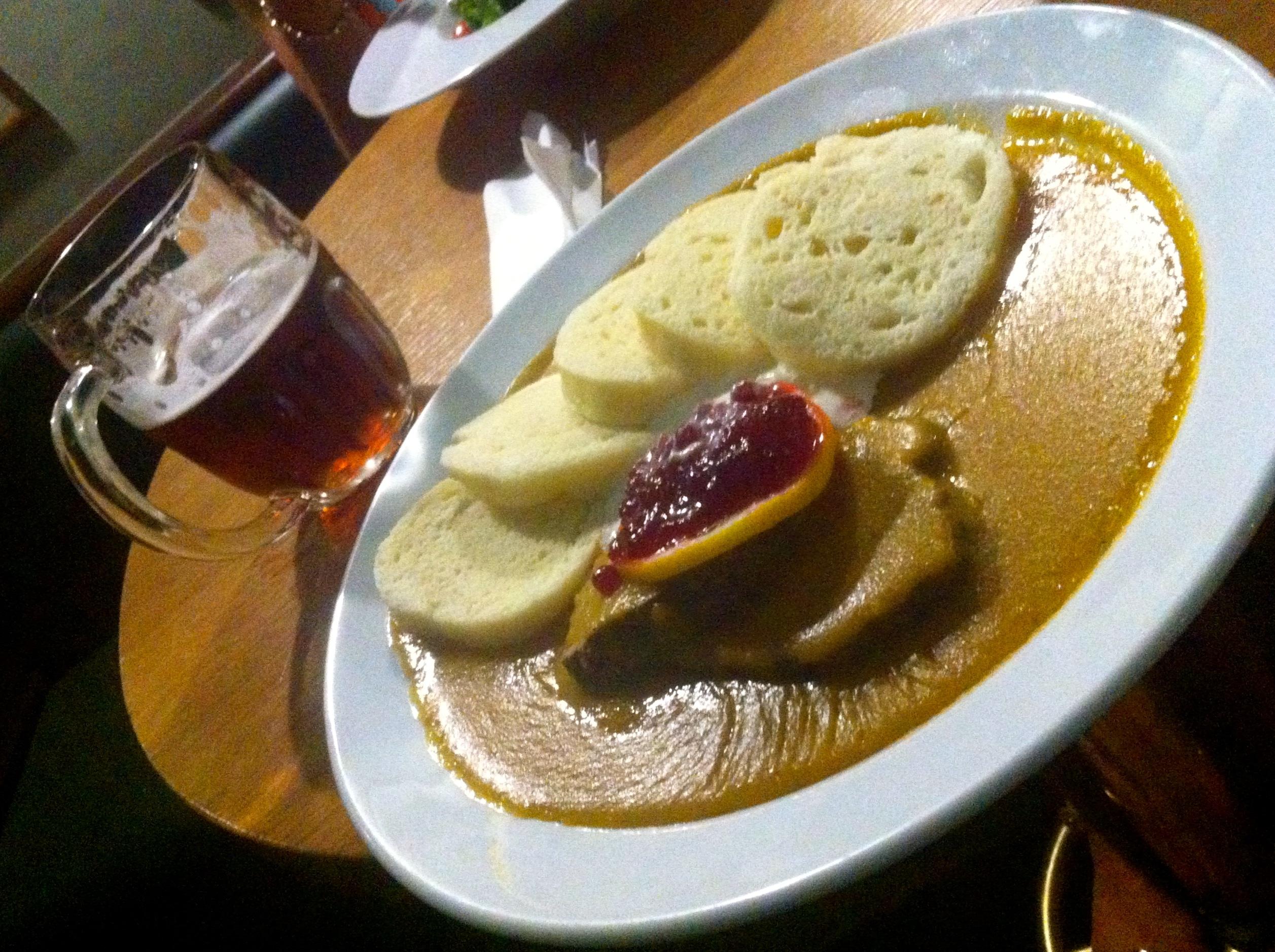 qué comer en Praga