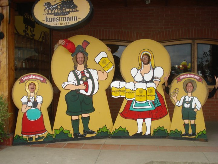 Cervecería Kuntsmann en familia