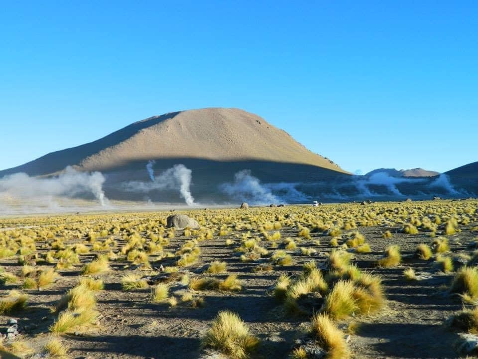 Geyser del Tatio. Own picture.