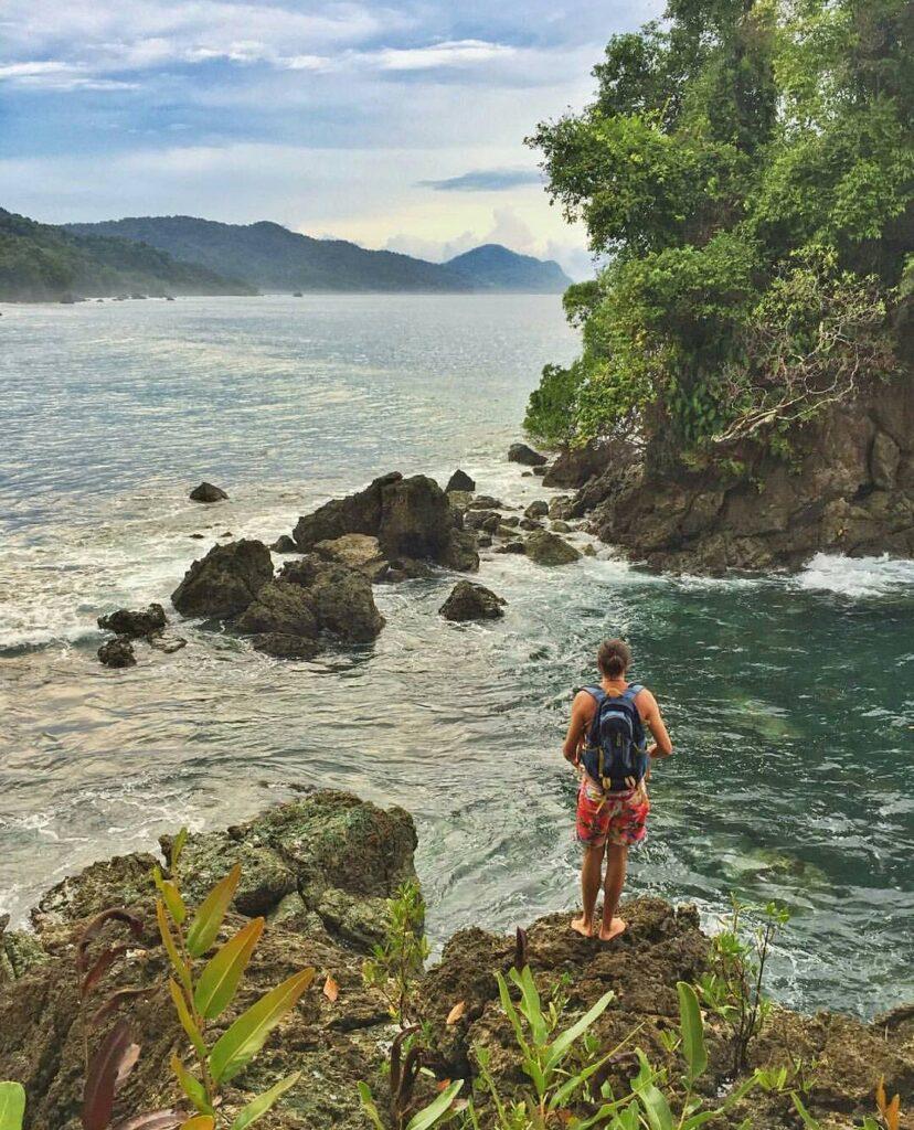Vista a Playas de la Ensenada Utría en el Chocó