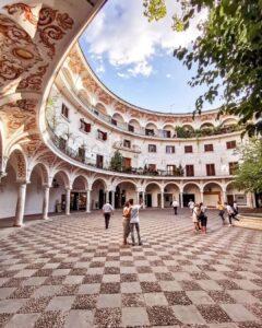 Plaza del Cabildo. Un rincón que ver en Sevilla