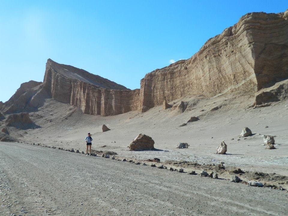 Valle de la Luna. Own picture.
