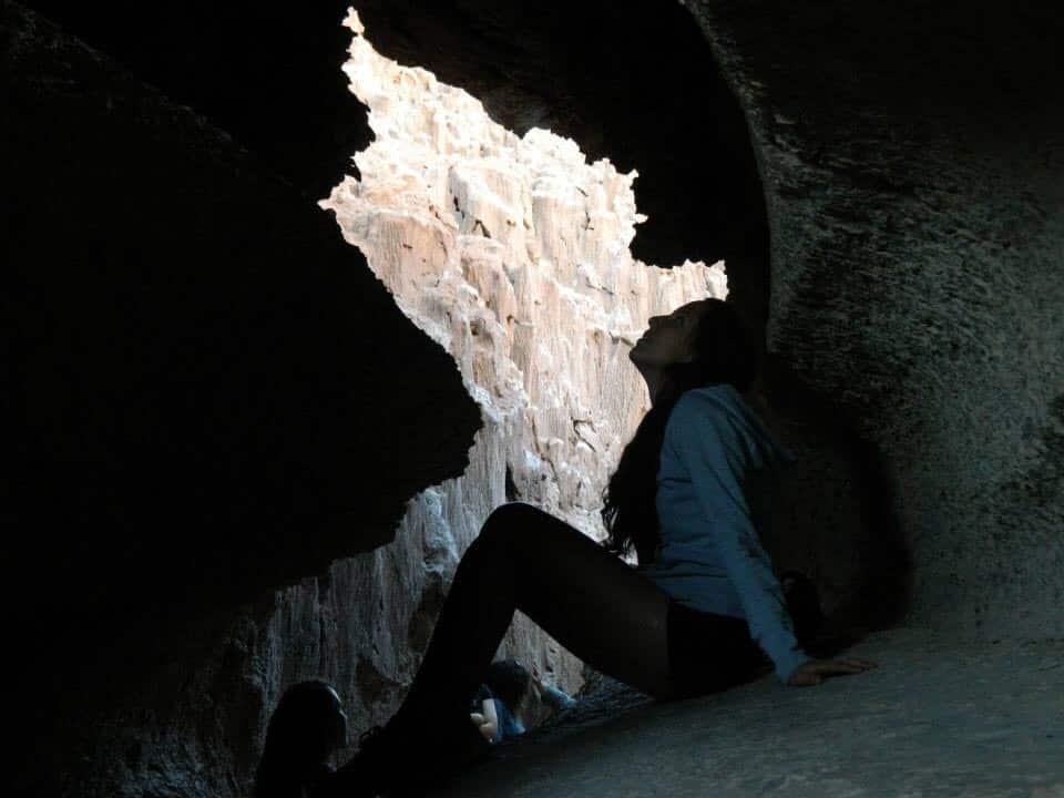 Cuevas del salar. Own picture.
