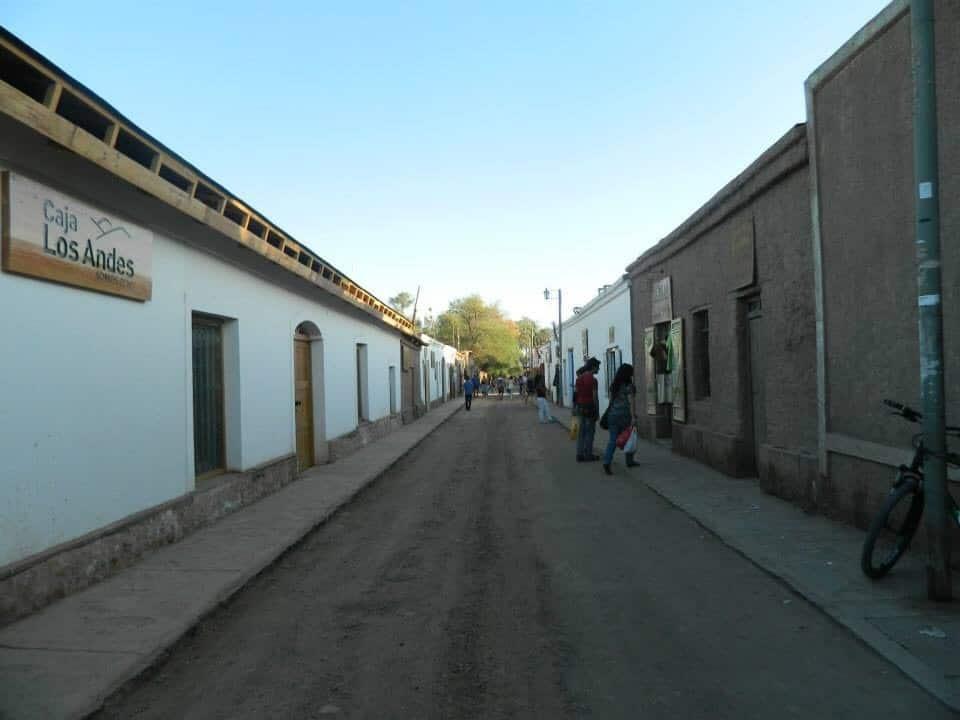 Pueblo de San Pedro de Atacama. Own picture.