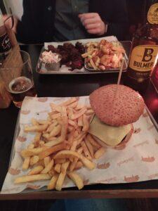 Comer en Londres