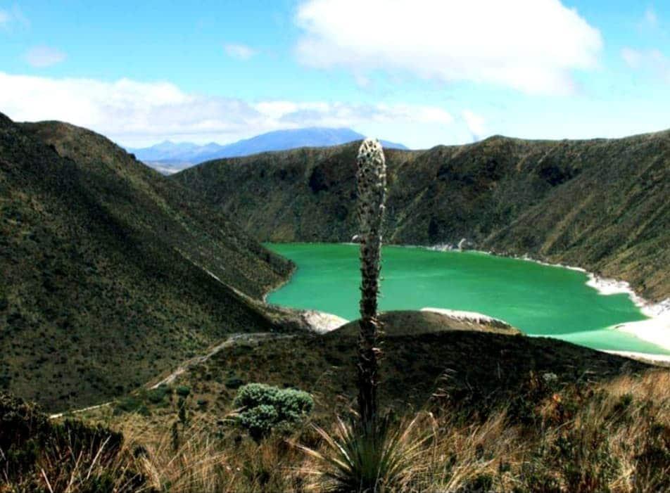 Laguna Verde en Nariño