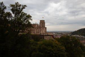 Un día en la ciudad universitaria de Heidelberg