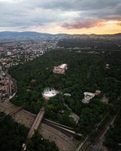 Bosque de Chapultepec - pulmón de la ciudad de méxico