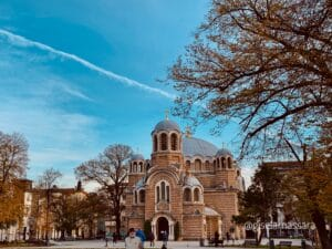 Iglesia de Sveti Sedmochislenitsi, en Sofía
