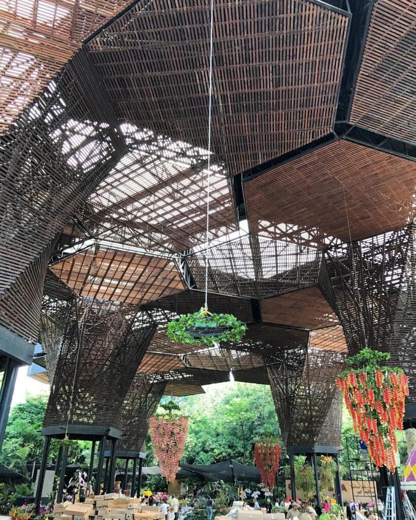 Orquideorama del Jardín Botánico
