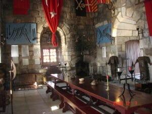 Interior del castillo de San Pedro