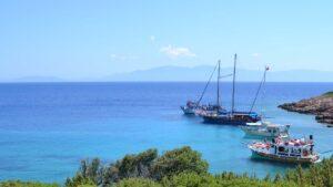 Barcos en Bodrum