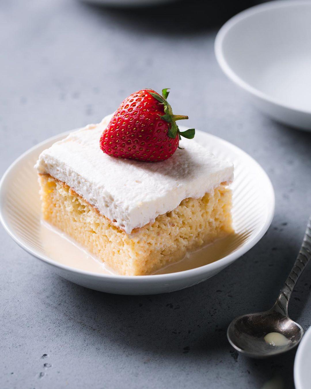 Torta Tres Leches. Comida peruana