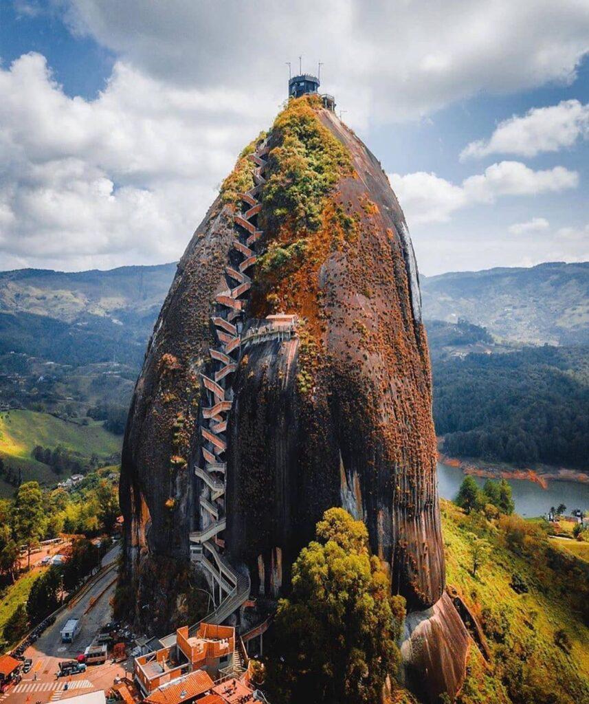 Vista de la Piedra El Peñol