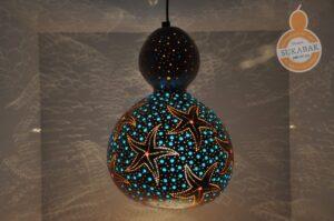 lámparas de calabaza