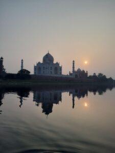 Atardecer en el Tal Mahal