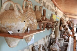 Interior del museo de Bodrum