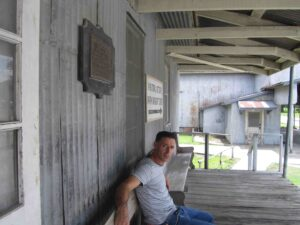 molino de arroz conrad en la ruta de Baton Rouge