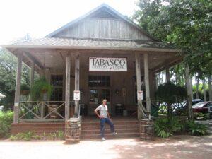 fábrica y museo de salsa tabasco en Avery Island.