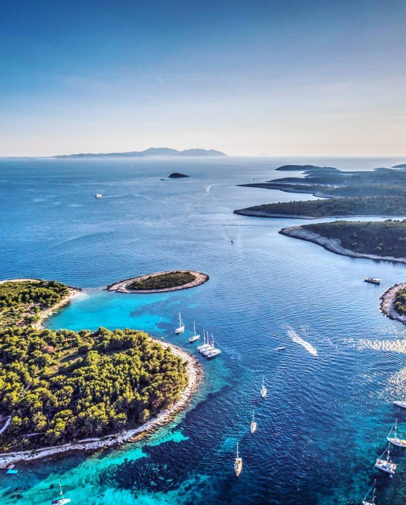 Islas Pakleni, Croacia