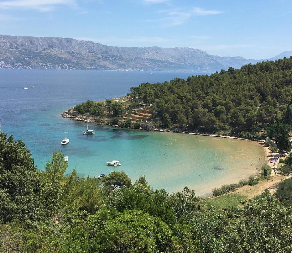 Lovrecina bay, Brac, Croacia