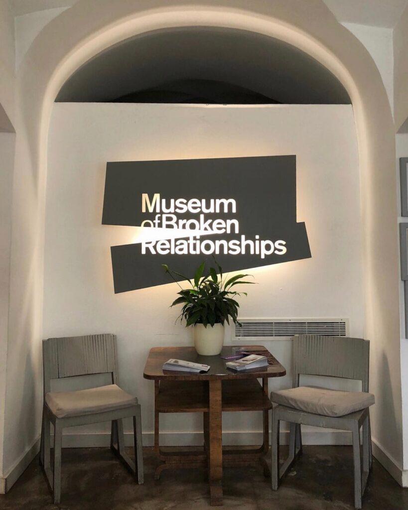 Museo de las Relaciones rotas Zagreb