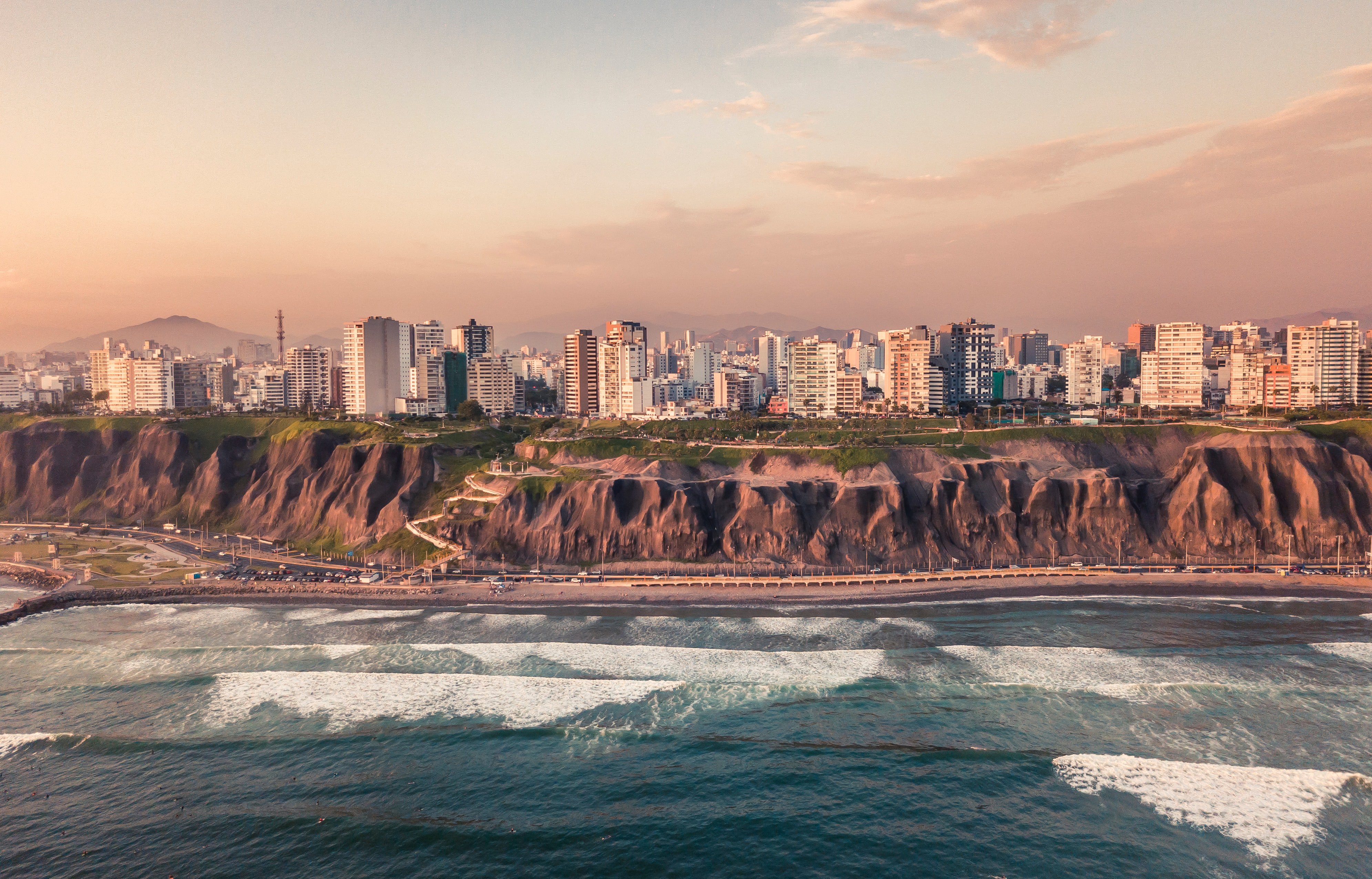 Vista de la ciudad de Lima