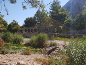 antigua ciudad de Olympos