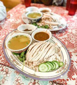 Que comer en Singapur, Hainanese Chicken Rice, @huangryfood