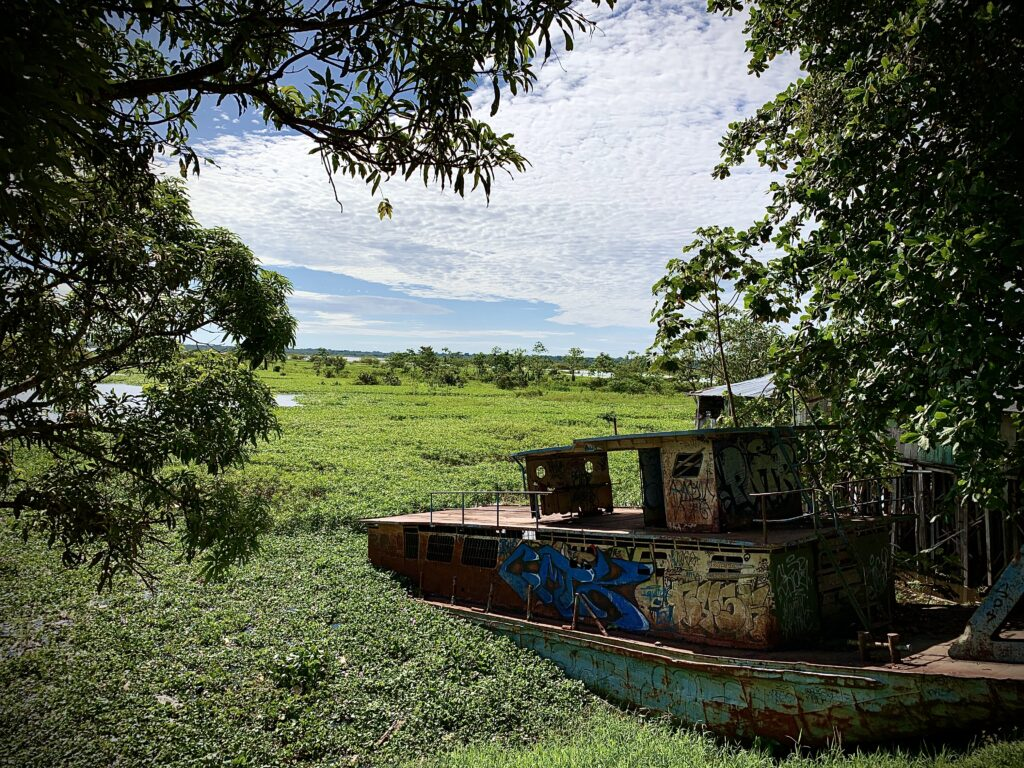 La amazonía peruana desde el malecón