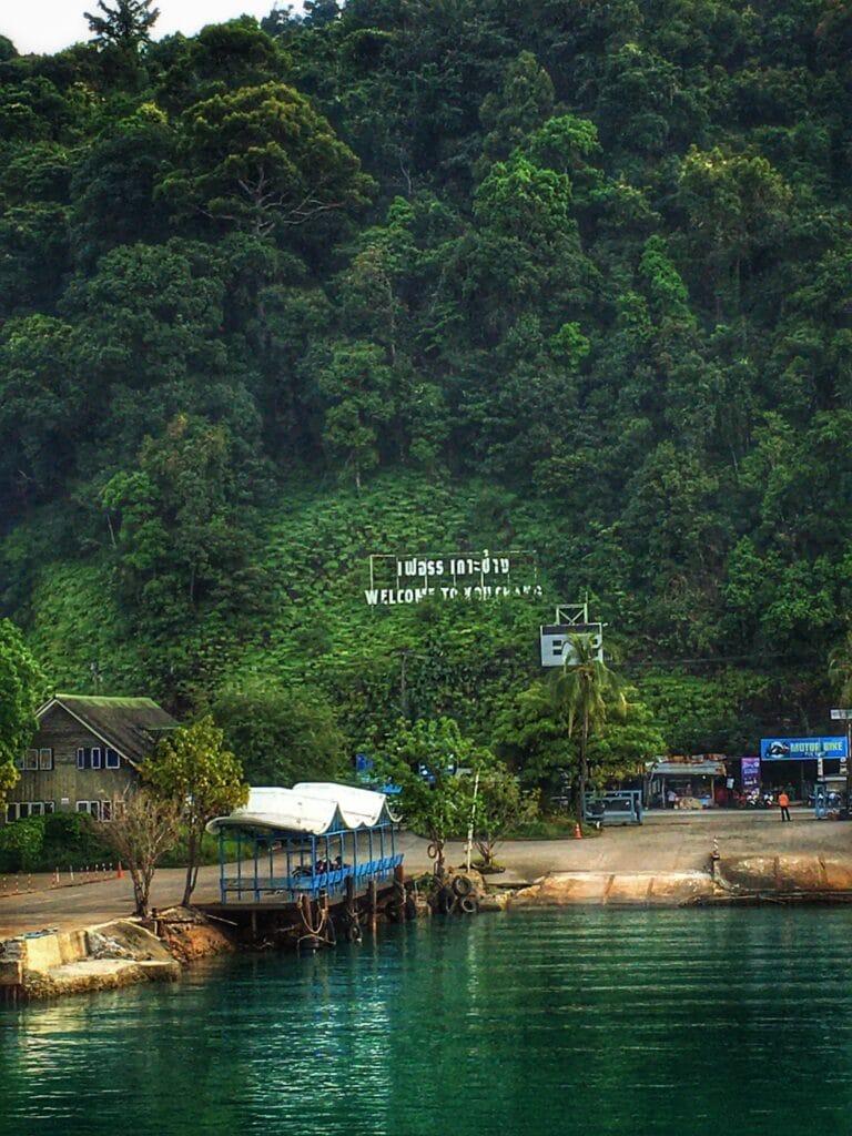 Muelle de Koh Chang