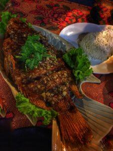 Pescado Frito thai