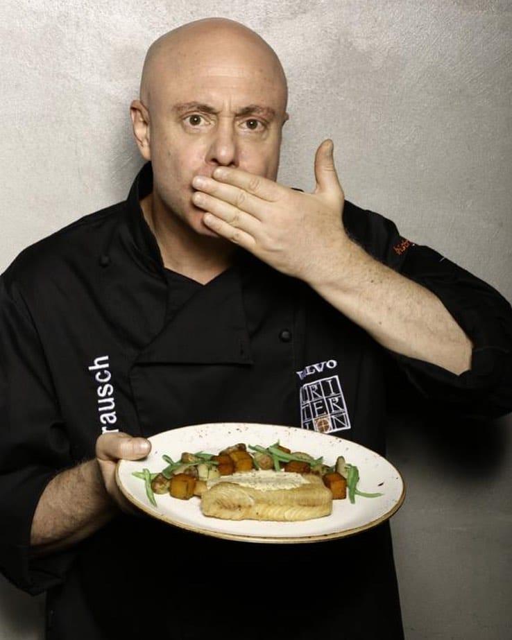 Jorge Rausch chef de uno de los mejores restaurantes colombianos