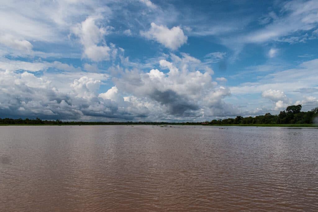 Ríos de la amazonía peruana