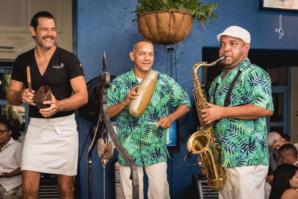 Noches de música en vivo en el restaurante Juan del Mar Cartagena