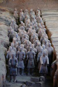 Guerreros en Xian