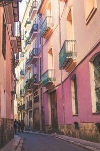 Planes en el Carmen en Valencia