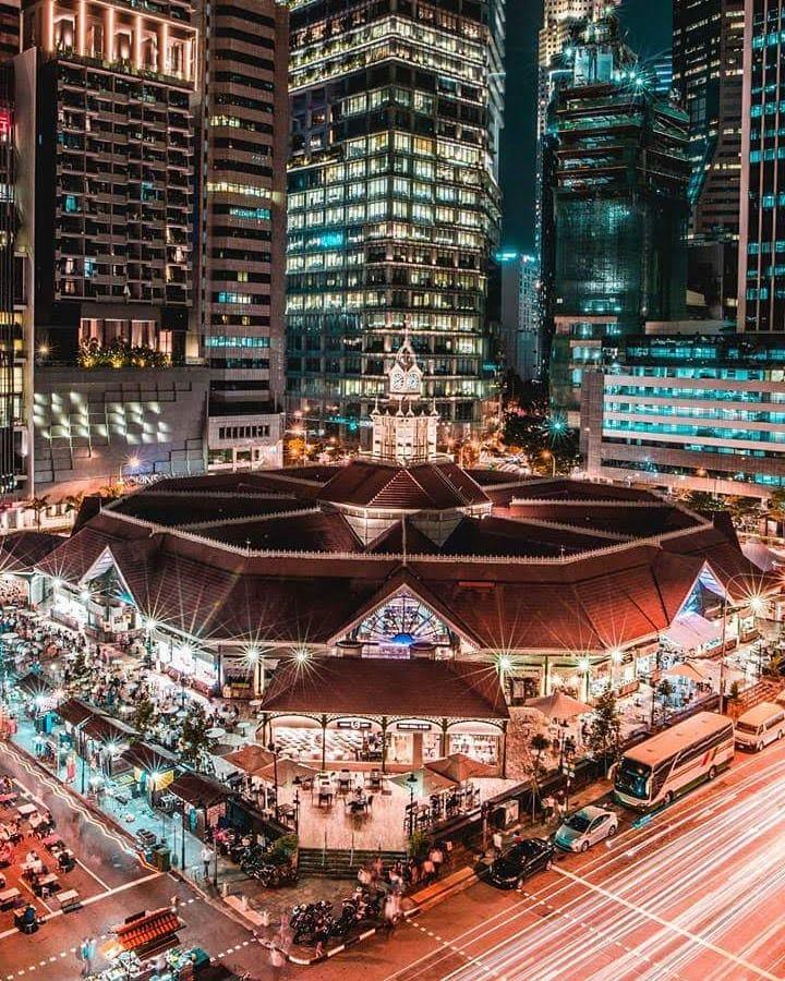 """Que comer en Singapur, Lau Pa SAt """"Hawker, by @fourpointssingapore"""
