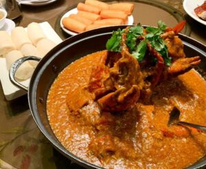 "Que comer en Singapur, Chilli Crab, ""Long Beach Sea Food"", by @icebearnoms"