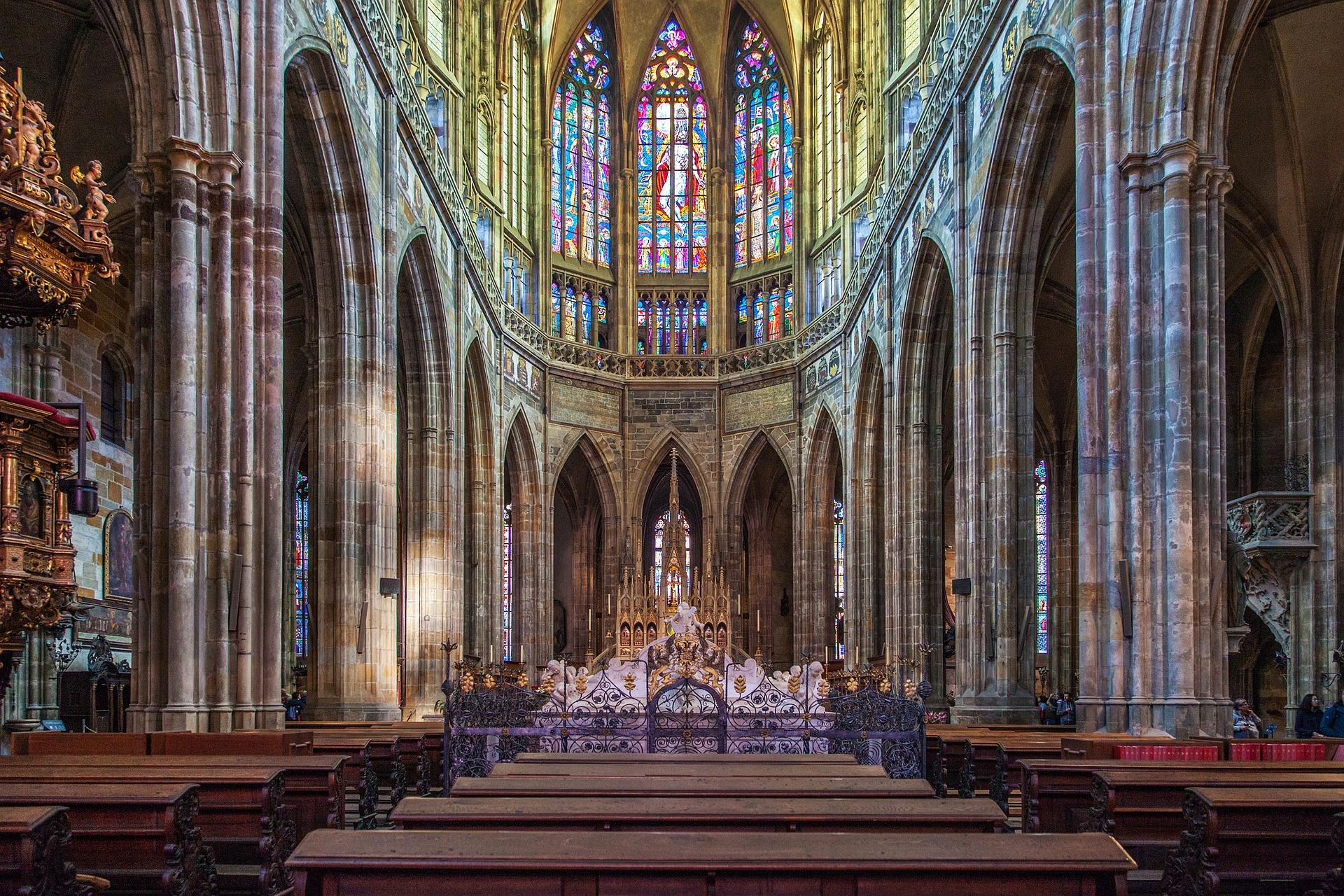 Interior de la Catedral de San Vito, Praga