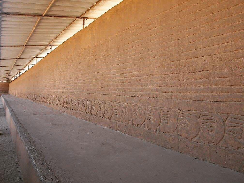 Muro de Chan Chan