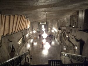 Minas de sal de Wieliczka Polonia
