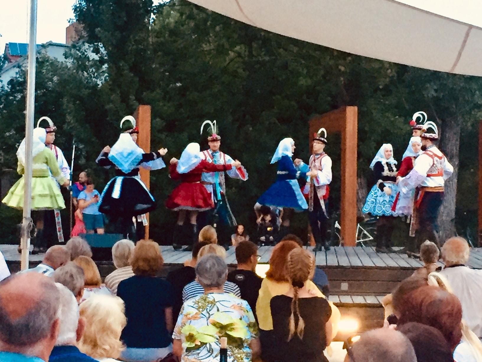 Festival folclórico en Moravia