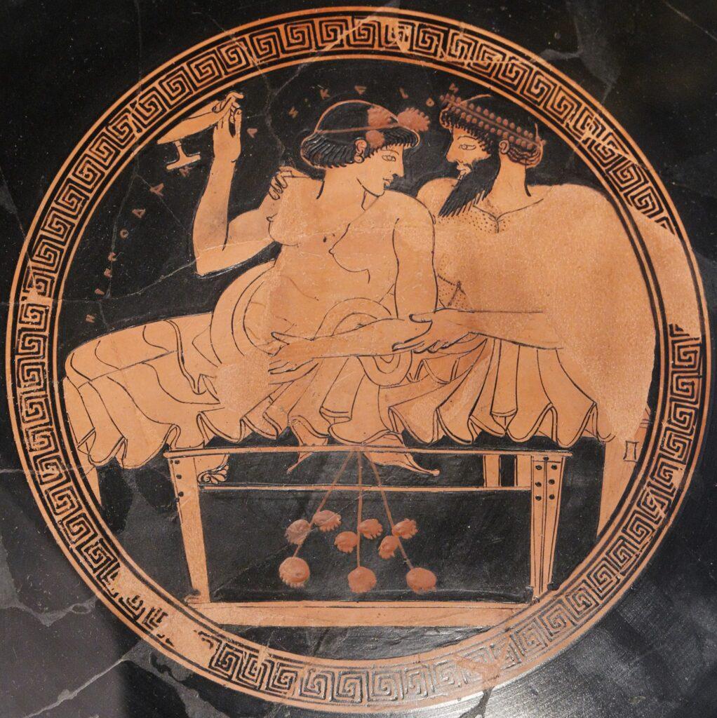 Banquetes en la Antigua Grecia