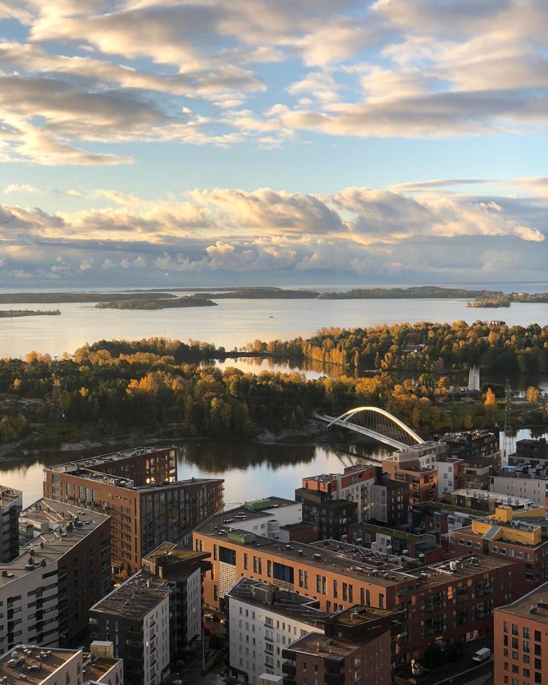 Helsinki ciudad moderna y llena de naturaleza