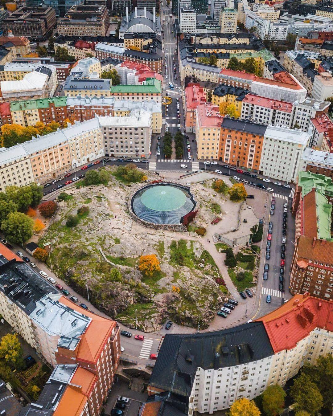 Iglesia luterana de la roca de Helsinki