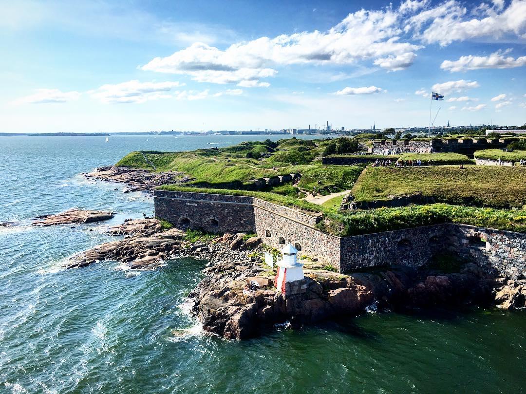 Isla fortaleza de Suomenlinna en Helsinki