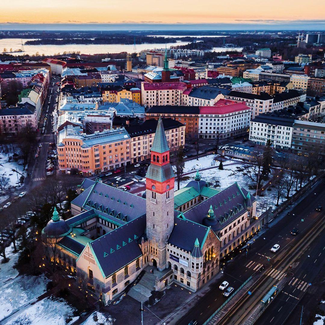 Museo nacional de Finlandia en Helsinki