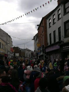 La festividad de Saint Patrick